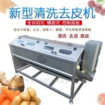 螺旋式清洗機水果蔬菜去皮機