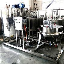 糖果熬煮鍋機組 全自動硬糖軟糖澆注設備機