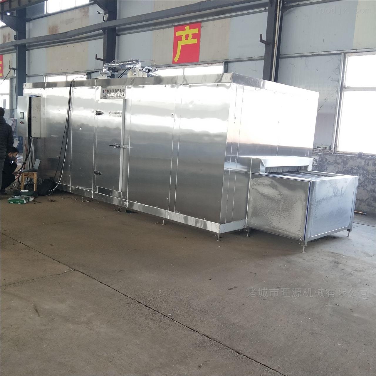 榛蘑液氮隧道速冻设备
