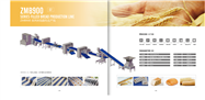 ZMB900  夹馅面包生产线