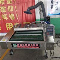 米线土豆粉皮履带输送式真空包装机