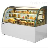 南京綠科弧形后開門臺式蛋糕柜廠家直銷