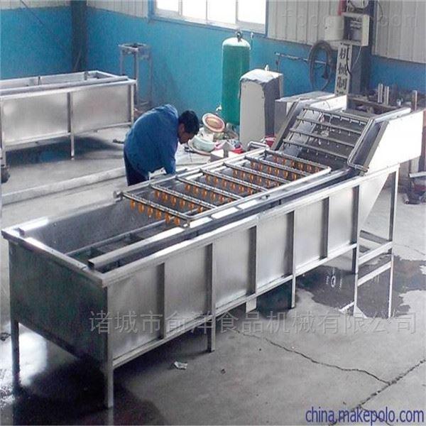 厂家供应全自动竹笋高压喷淋气泡清洗机