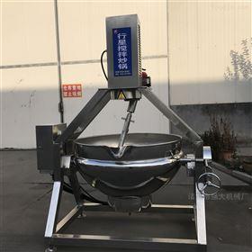 阿胶熬制搅拌锅强大机械专业生产17年夹层锅