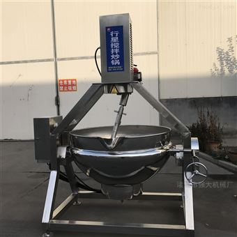 300L阿胶熬制搅拌锅强大机械专业生产17年夹层锅
