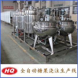 HQ-150~600明胶软糖浇注设备 全自动软糖生产线
