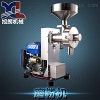 HK-860Q汽油发动绿豆面粉机,手拉绳葛仙米磨粉机