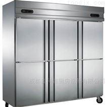 成都厨房设备公司六门冰柜
