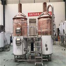 浙江500升精釀啤酒設備 釀酒機械