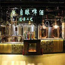 青島500升精釀啤酒設備 釀酒機械