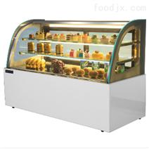扬州浩博日式豪华型1.8米蛋糕柜厂家直销