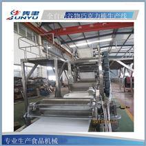士力架生产线,糖排生产线,复合糖排自动成型设备