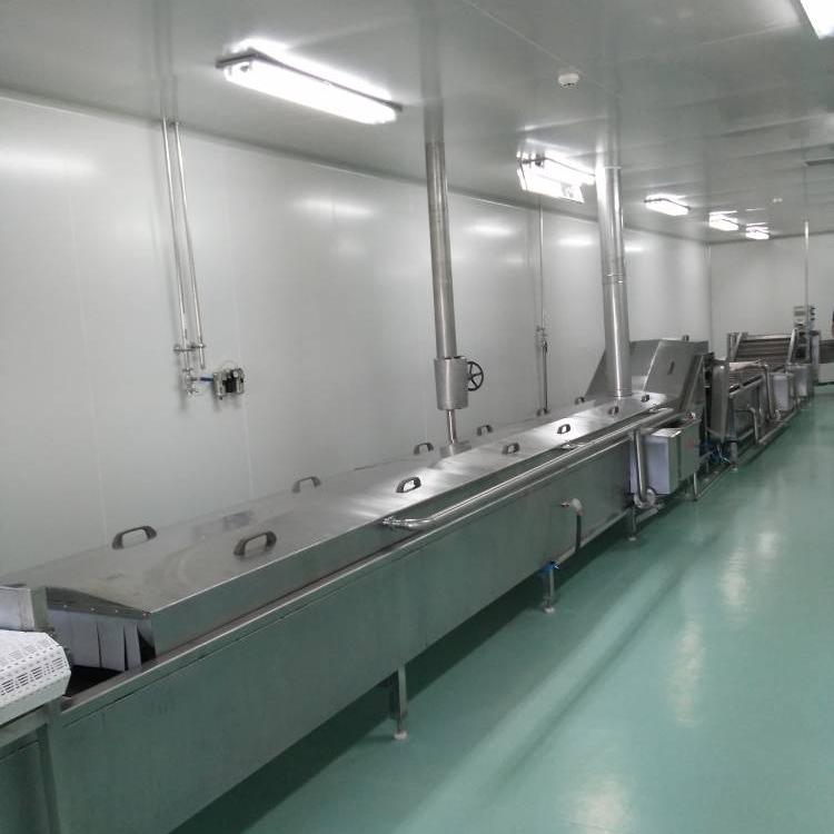 厂家出售不锈钢食品级水浴式杀菌生产线