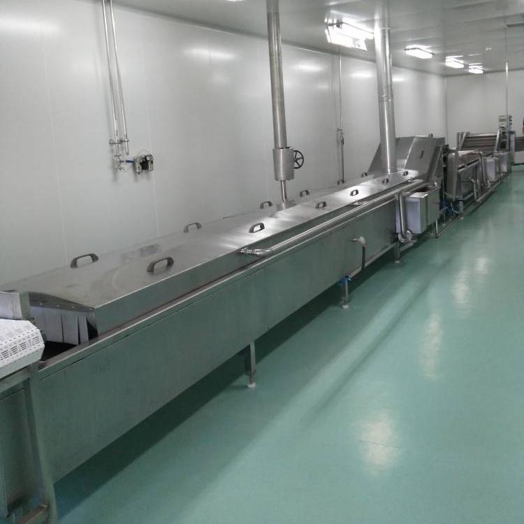 大型红肠巴氏杀菌生产线设备