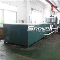 思诺威尔制冰机10吨传统盐水池块冰机