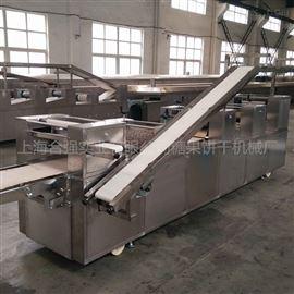 HQ-BG400韧性饼干机 全自动滚切饼干生产线 饼干设备