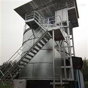 鸡猪粪立式发酵罐的结构和工作原理