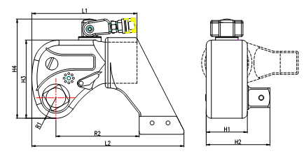 SGYYB驱动式液压扭矩扳手