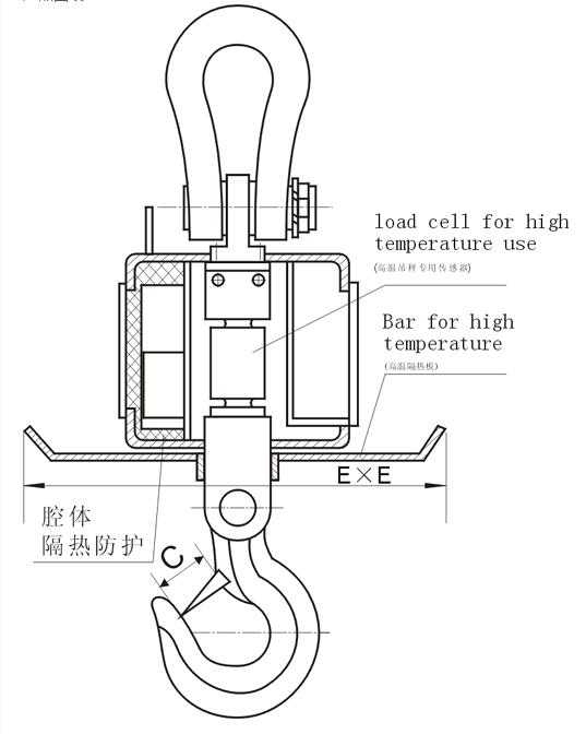 电子吊秤产品图纸